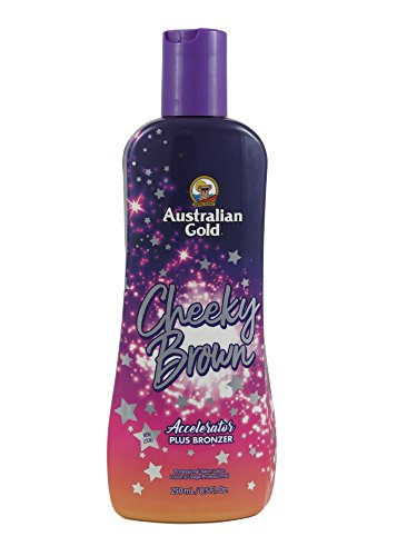 Australian Gold, CHEEKY BROWN Accelerator Dark Natural Bronz