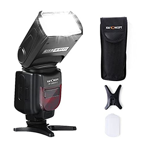 Speedlite Flash, K&F Concept KF590C Professional TTL Flash for Canon