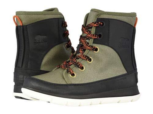 SOREL(ソレル) レディース 女性用 シューズ 靴 ブーツ レースアップブーツ Explorer 1964 - Hiker Green/Black [並行輸入品] B07GBVK2LV   7 B - Medium