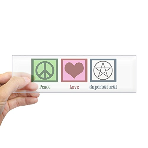 CafePress Supernatural Sticker Bumper Rectangle