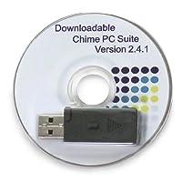 Honeywell RCA2200N1005 /A MyChime Door Chime Software de timbre de puerta inalámbrico y tarjeta de sonido en blanco