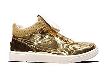 best service 6be32 c7657 Image Unavailable. Image not available for. Colour: Nike NSW Tiempo 94 Mid  SP Liquid Metal - Metallic Gold ...