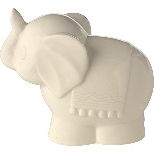 Precious Moments Tuk Elephant Ceramic Battery Operated Nightlight, Beige