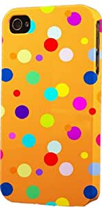 Polka Dot Pattern Dimensional Case Fits Apple iPhone 5c