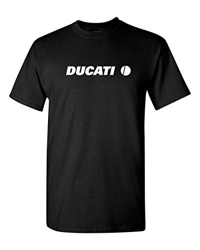 Ducati 1299 899 Panigale Monster Motorcycle Racing T shirt (2X, Black) -