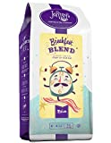 Joffrey's Coffee & Tea Co. Smooth, Medium-Bodied Breakfast Blend has a rich flavor and aroma, Medium Roast Ground 16 ounce 100% Arabica from Central and South America