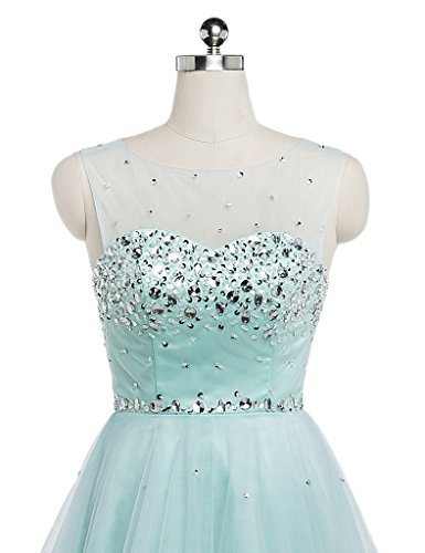 Beadings Formal Party A Prom Charmingbridal Women's Short Line Green Dress wqBtFIX
