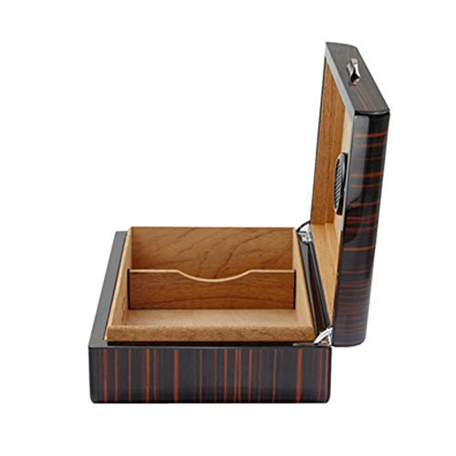$140.04 antique humidor Cigar Box Humidor with Magnet Seal and Humidifier Gel Cedar Wood Elegant and Charming Gifts Elegant and Generous Cedar Wood 2019