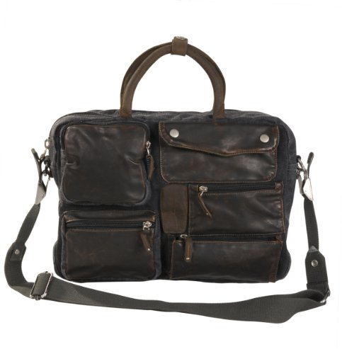 urban-style-washed-canvas-casual-briefcase-w-leather-trim-0831-black