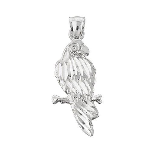 10 ct 471/1000 Or Blanc Diamant Coupe - Pendentif