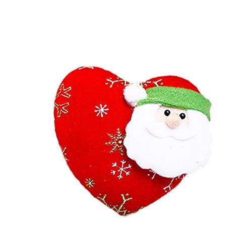 Willsa Christmas Tree New Window Fireplace Hanging Pendant Ornaments -