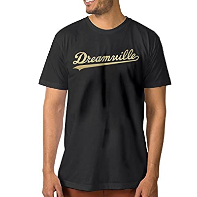 Men J. Cole Dreamville Records Graphic T Shirt Tee Shirt