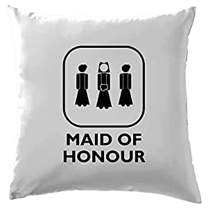 Amazon.com: Dama de honor [Married] funda de cojín funda de ...