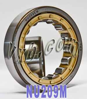 NU209M Cylindrical Roller Bearing 45x85x19
