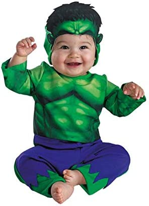 DISBACANAL Disfraz de Hulk para bebé - -, 9 Meses: Amazon.es ...
