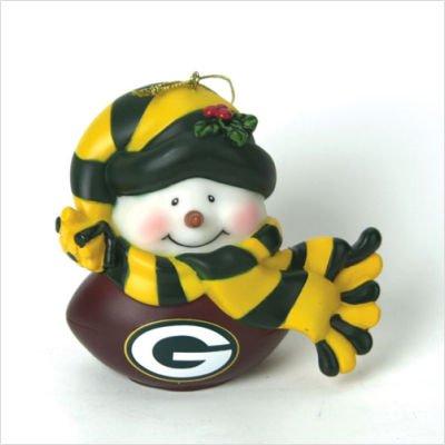 Green Bay Packers Musical Light-Up Snowman -