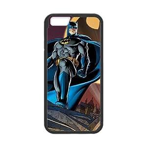 iPhone 6 4.7 Inch Cell Phone Case Black Batman in the Sky B9T6QM