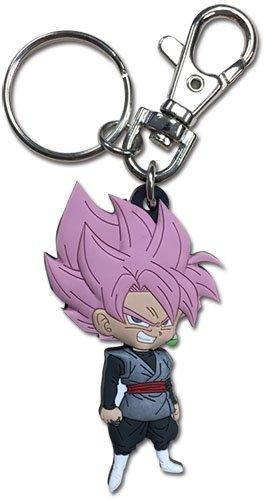 Keychain Goku - Dragon Ball Goku Black Super Saiyan Rose Keychain