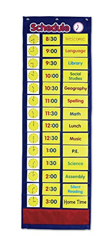 Learning Resources Daily Schedule Pocket Chart ()