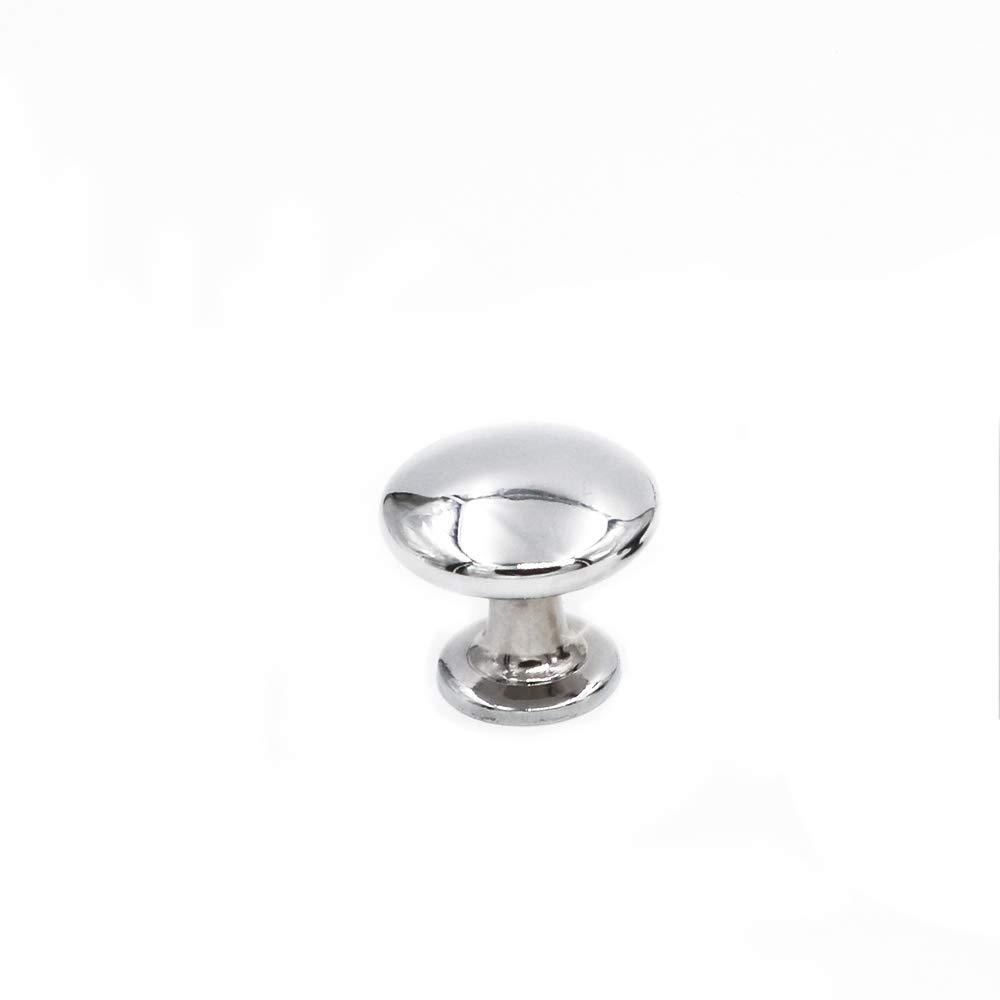 6050SNB Durchmesser 28mm 15 X Nickel Geb/ürstet M/öbelkn/öpfe Schrankt/ürknauf Goldenwarm Griff M/öbel Metall Massiv Kn/öpfe F/ür K/üchenschrank Schublade Nachttisch