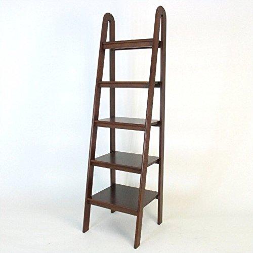 Wayborn Home Furnishing Ladder Shelf, 5'', Medium Wood by Wayborn Home Furnishing Inc