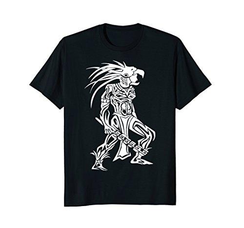 Aztec Warrior T-Shirt (Aztec Shirt Mens)