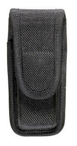 Bianchi Accumold 7303 Black Single Magazine Pouch (Size: 2-Hook and Loop)