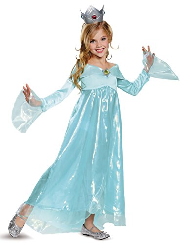 Rosalina Deluxe Costume, Blue, Small (4-6X) -