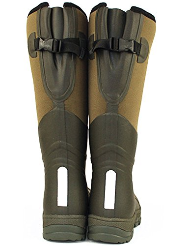 absorbent WINNING gusset Shock 3M rear AWARD 5mm Men's SIZE warmth adjustable neoprene Wellingtons 13 lined UK boot bed FREE foot Rubber Natural reflective 5 for Rockfish DELIVERY Retro ZHUUdq