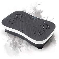 WeightWorld Plateforme VIBRANTE - Machine Vibration pour Sport - Appareil Fitness - Perte de Poids - Circulation Sanguine - Cellulite - 99 Niveaux d'Intensité - Hauts Parleurs Bluetooth