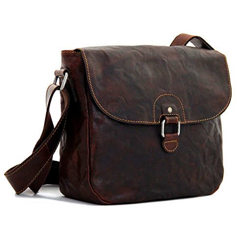 Jack Georges Voyager Saddle Bag - Brown