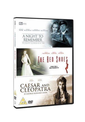 A Night To Remember/The Red Shoes/Caesar And Cleopatra [DVD] by Kenneth More B01I070NB0