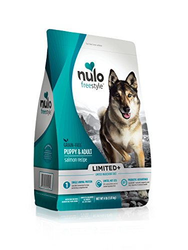 Nulo Puppy & Adult Freestyle Limited Plus Grain Free Dry Dog Food: All Natural Limited Ingredient Diet For Digestive & Immune Health – Allergy Sensitive Non Gmo (Salmon Recipe – 4 Lb Bag) For Sale
