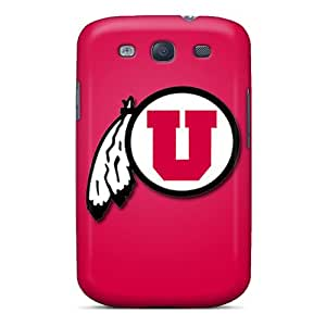 LeoSwiech Samsung Galaxy S3 Shock Absorbent Hard Cell-phone Case Customized Beautiful Utah Utes Image [FcE17207cKaP]