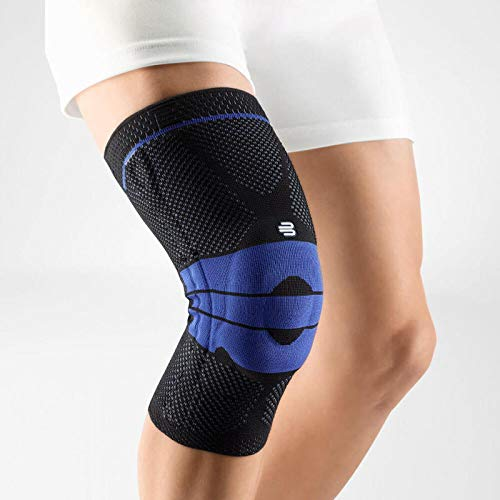 Bauerfeind - GenuTrain - Knee Support Brace - Targeted Support for Pain Relief and Stabilization of The Knee - Size 3 - Color Black