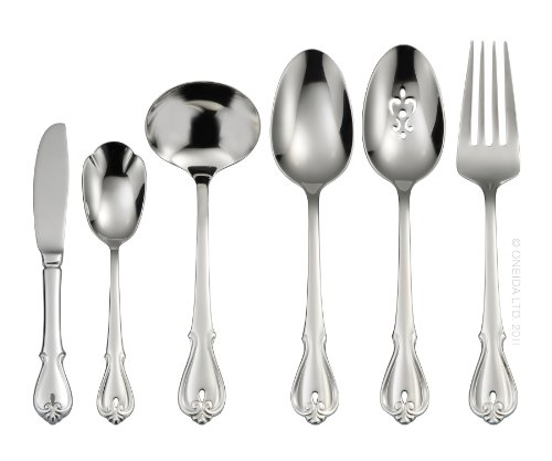 (Oneida Harmonic 6-Piece Serving Set)