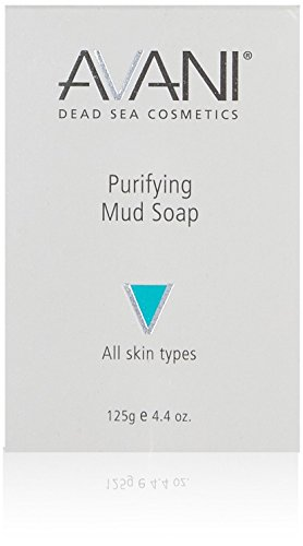 [Avani Dead Sea Purifying Mud Soap, Size: 125 gr] (Ahava Mud Soap)