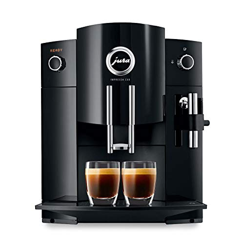 Jura 15006 Compact Impressa C60 Automatic Coffee Machine (Renewed) (Best Coffee For Superautomatic Machine)