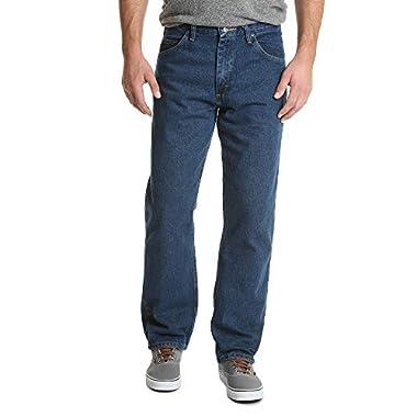 d126b803 Wrangler Authentics Men's Classic Relaxed Fit Jean, Dark Stonewash, 34x29