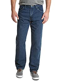 Authentics Men's Classic 5-Pocket Relaxed Fit Cotton Jean
