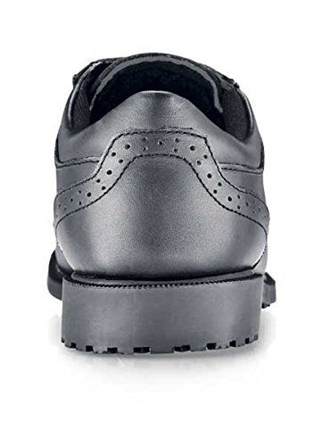 Shoes For Crews Sicherheitsschuh Executive Wing Tip - Herren Schwarz
