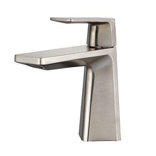 Kraus KEF-15301BN Aplos Single Lever Basin Bathroom Faucet Brushed Nickel by Kraus (Kraus Aplos Faucet compare prices)
