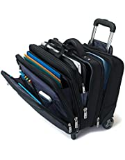 Samsonite 46315 Business Special Mobile Office Briefcase, Black, 41 Centimeters