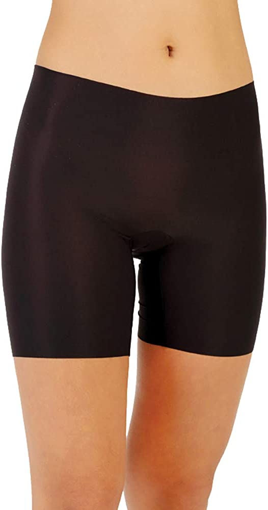 Black Luxeire Womens Tap Shorts