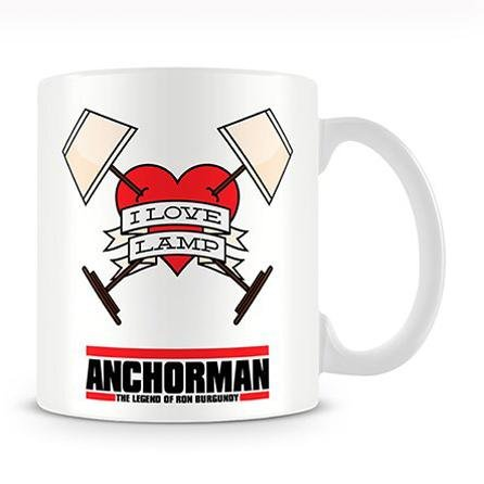 Amazon com: Anchorman I Love Lamp Coffee Mug: Kitchen & Dining