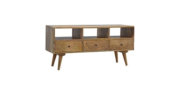 Mango - Soporte de madera para televisor: Amazon.es: Hogar