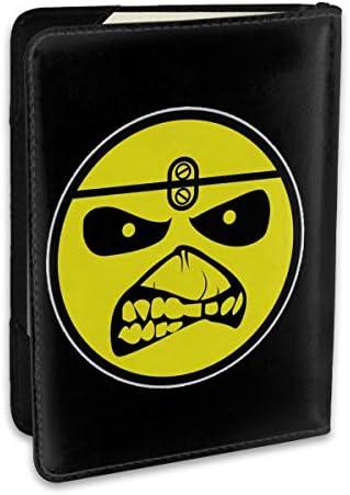 アイアン・メイデン Iron Maiden パスポートケース メンズ 男女兼用 パスポートカバー パスポート用カバー パスポートバッグ ポーチ 6.5インチ高級PUレザー 三つのカードケース 家族 国内海外旅行用品 多機能