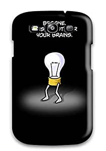 High Quality Funny Bulb Case For Galaxy S3 / Perfect Case