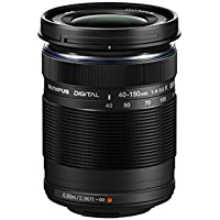 Olympus M. 40-150mm F4.0-5.6 R Zoom Lens (Black) for Olympus and Panasonic Micro 4/3 Cameras  - International Version (No Warranty)