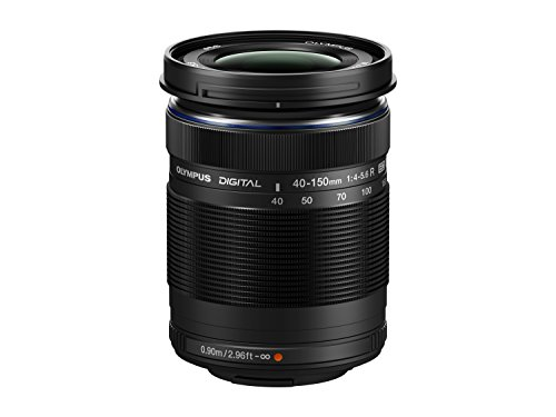 Price comparison product image Olympus M. 40-150mm F4.0-5.6 R Zoom Lens (Black) for Olympus and Panasonic Micro 4 / 3 Cameras - International Version (No Warranty)